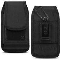 Cell Phone Pouch Case Universal Flip Phone Carrying Case with Belt Holster Clip