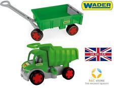 ~ Nuovo Gigante Camion con rimorchio tip-cart CAMION Wader Giocattolo Verde per Bambini Regalo ~