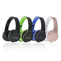 Foldable Wireless Bluetooth 4.1 Stereo Headphone Headset Mic MP3/MP4/FM Radio/TF