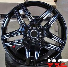 "22"" Black Wheels For Mercedes G500 G550 G600 G55 G63 G Wagon 22X10 Rims Set (4)"