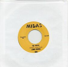 LONNIE BROOKS   THE POPEYE / MR HOT SHOT   MIDAS Re-Iss/Re-Pro NORTHERN/R&B/MOD
