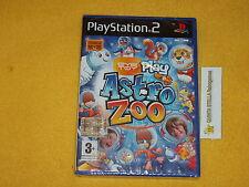 ASTRO ZOO PS2 SONY PLAYSTATION 2 PAL ITALIA NUOVO SIGILLATO x EYE TOY