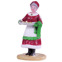 Lemax 2019 Mrs. Claus Cookies Santas Wonderland #92759 Vibrant Attractive Décor