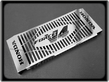 HONDA VFR400  Style Polished Radiator Grill - NC21 to NC30 - VFR 400