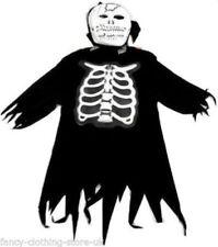 Halloween Fancy 7-9  Costume Party Skeleton Monster Ghost Cape Zombie SCREAMER
