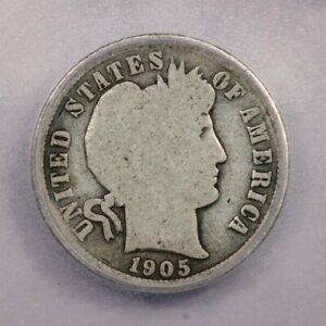 1905-O 1905 Barber Dime 10C ICG G4