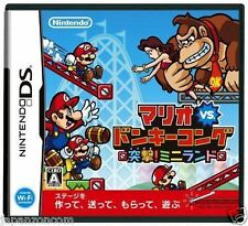 Used DS Mario vs. Donkey Kong: Mini-Land Mayhem NINTENDO JAPANESE IMPORT