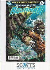 DC Comics Aquaman # 3 Rebirth 1st Print