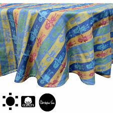 Christopher Vine Kids United Cotton Kitchen Table Cloth 180cm Round 4 to 6