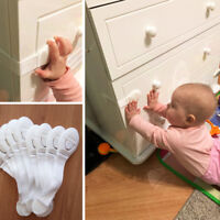 10x Baby Child Cupboard Cabinet Safety Locks Pet Proofing Door Drawer Fridge Kid