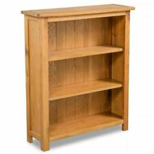 vidaXL 244468 3-Tier Oak Bookcase