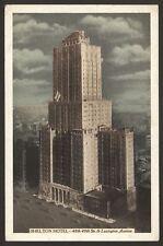 USA. New York City. Shelton Hotel 48th-49th Sts & Lexington Ave. Unused Postcard