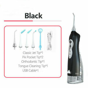 255ml Teeth Dental Flosser Rechargeable Oral Irrigator Portable Tooth Cleaner