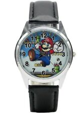 Super Mario Character Leather Band WRIST WATCH