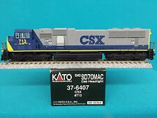 37-6407 Kato HO Scale SD70 MAC CSX NIB