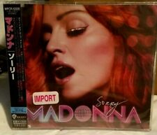 MADONNA Sorry JAPAN IMPORT (CD EP, 2006) NEW
