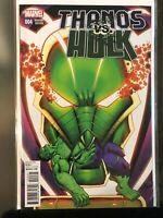Thanos vs Hulk #4 Variant NM Near Mint Unread 1:25 Ron Lim
