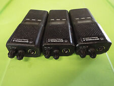 Lot Of 3, Motorola Radius P1225.Ls Handie Talkie-Radio, Type: Zpcua