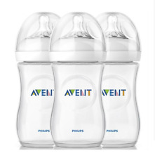 AVENT Natural Baby Bottle, BPA free Pack of 3, Milk Water Feeding Infant Cup