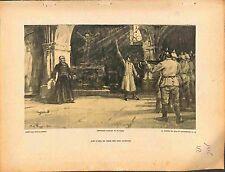 Prêtre Fusillé Eglise Feldgrau Deutsches Heer Paul-Michel Dupuy Peintre 1915 WWI