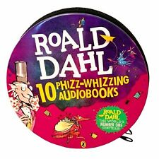 Roald Dahl Classics 10 Phizz Whizzing Audio Story Books Set 29 CD Metal Tin New