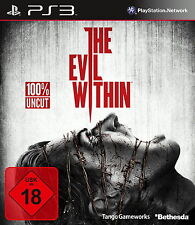 SONY PS3 The Evil Within 100% UNCUT PlayStation 3 deutsch OVP gebraucht komplett