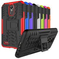 For LG Stylo 4, Stylo 5 Case Rugged Armor Shockproof Hybrid Cover with Kickstand