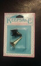 New Nicole Keepsake Miniatures Vintage Record Player Phonograph Dollhouse Furnit