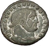Severus II as Caesar 305AD Big RARE Ancient Roman Coin Genius  Wealth  i53319