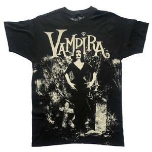 Kreepsville 666 Vampira Cemetery Mist Gothic Punk Horror Spooky T Shirt MTJVCM