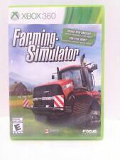 Farming Simulator (Microsoft Xbox 360, 2013) Cib Tested Fast Shipping