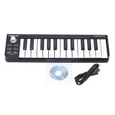 Worlde Easykey.25 Portable Keyboard Mini 25-Key USB MIDI Controller R2R5