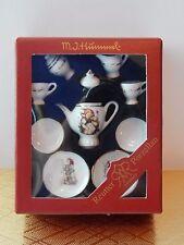 M I Hummel Goebel Miniature Dollhouse Tea Set Reutter Porzellan Germany