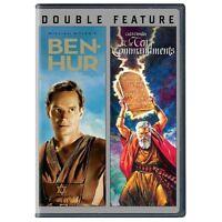 Ben Hur/Ten Commandments (DVD, 2013, 4-Disc Set) Free Ship #0720DH