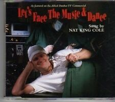 (CX492) Nat King Cole, Let's Face The Music And Dance - 1994 DJ CD