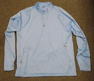 NBA Adidas Light Blue Colored Golf Pullover Size Medium M