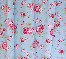 Cath Kidston IKEA Blumen Rosali Stoff Fat Quarter blau Vintage Rose Werbeantwort