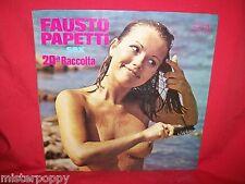 PAPETTI 20 LP 1975 Lounge Funky Bossa Laminated Gatefold NUDE Gf Lam Cover EX