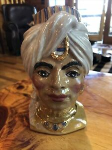 Royal Copely Genie Head Vase