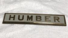 1938? HUMBER SNIPE? TRUNK?EMBLEM