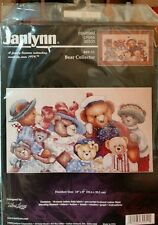 COUNTED CROSS STITCH JANLYNN ALMA LYNNE BEAR COLLECTOR 89-51 UNOPENED