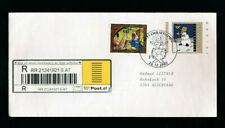Christkind-Recobrief 14.12.2002 auf Bonusbrief Schneemann (CH23)