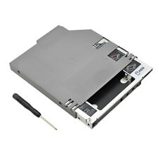 """2nd HDD Caddy IDE to SATA 12.7mm 2.5"""" SATA SSD Caddy Adapter For Dell D600 D610"""