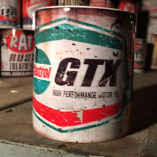 2x Castrol GTX  oil can Gift Motorcycle Car Mechanic Gift 11oz Tea coffee mugs