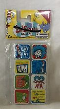 New Dr. Seuss 8 Ct Eraser Party Bag Filler Teacher Incentive Stocking Stuffer #3