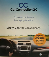 Audiovox Car Connection 2.0 Vehicle Safety and GPS Tracker w/ Engine Diagnostics