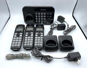 Panasonic KX-TG4741 Cordless 3 Handset Phone Digital Answering System DECT 6.0