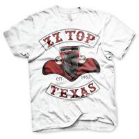 ZZ Top Texas 1969 Hot Rod T-Shirt Mens