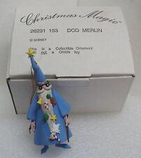 DISNEY DCO Merlin Wizard Christmas MAGIC Ornament NEW BOXED 26231 153