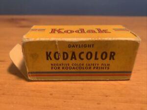 Vtg Kodak Kodacolor Film Cartridge Exp 1946 Color Negative Safety Film c120